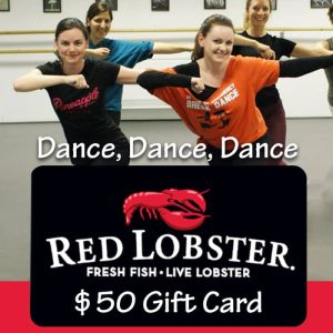 dance lesson and red lobster