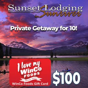 sunset lodging and winco
