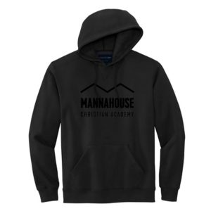 black MCA hoodie