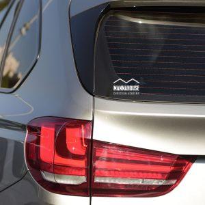 mca car window sticker